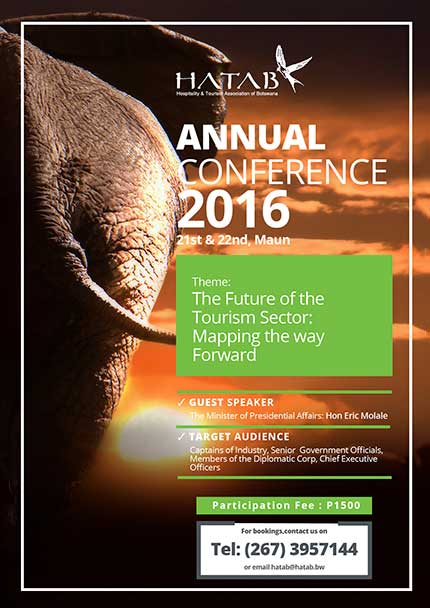 HATAB Conference Advert 2016